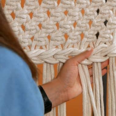 Macramé Tutorial: Basic Knots for Borders and Braids