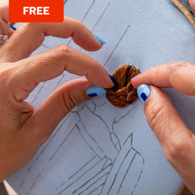 Free Embroidery Pattern Guide to Create Hairstyles With Volume