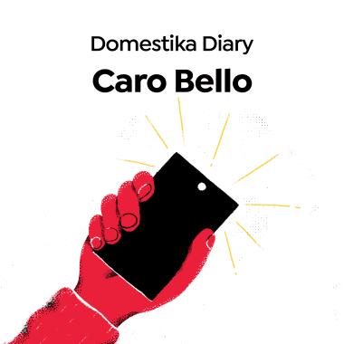Domestika Diary: Caro Bello