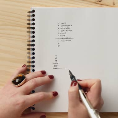 Bullet Journal Tutorial: How to Use Basic Symbols