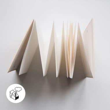 Cómo hacer un cuaderno desplegable en casa fácilmente
