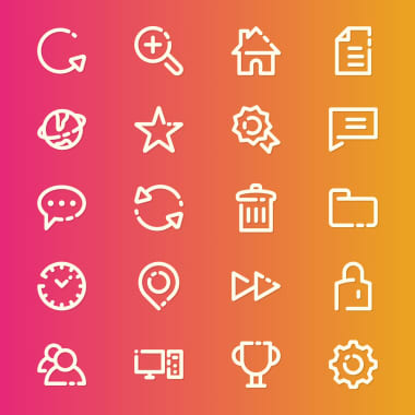 5 Websites For Downloading Free UI Design Icons