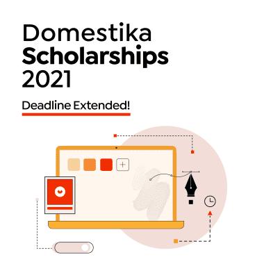 Domestika Scholarships 2021: Deadline Extended to April 25th!
