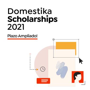 Domestika Scholarships 2021: ¡Ampliamos el plazo hasta el 25 de abril!