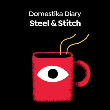 Meet British Sustainable Crochet Designer Steel & Stitch in this Domestika Diary