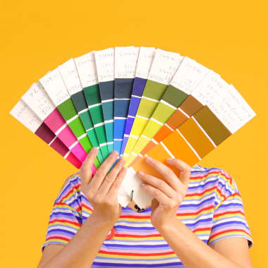 How to Create a Gouache Color Card
