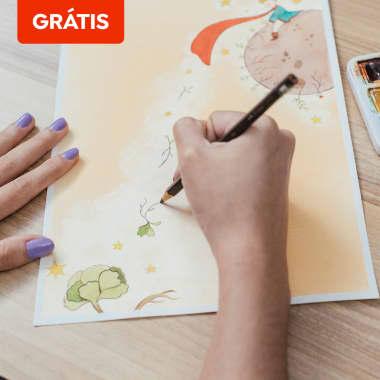 Download grátis: exercícios para desenhar com lápis de cor