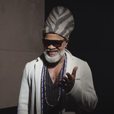 Carlinhos Brown: Innovative Artist and Percussion Icon, in Domestika Maestros