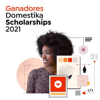 ¡Estos son los ganadores de las Domestika Scholarships 2021!