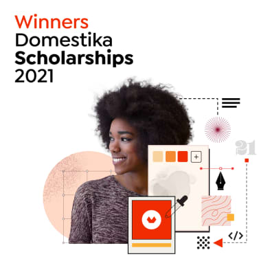 Meet the Winners of Domestika Scholarships 2021!