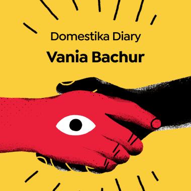 Suupeergirl Illustrator and Designer: Vania Bachur Stars in this Domestika Diary