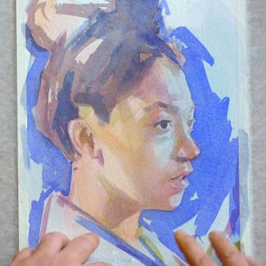 How to Combine Watercolor and Oil to Get the Best Results