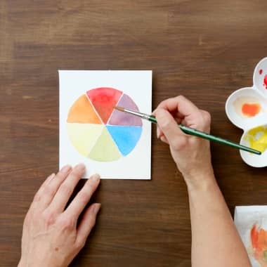 Watercolor Tutorial: How to Create Shadow Using Color Theory
