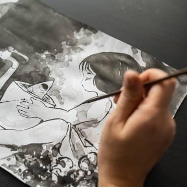 10 cursos online para aprender ilustração japonesa em 2021