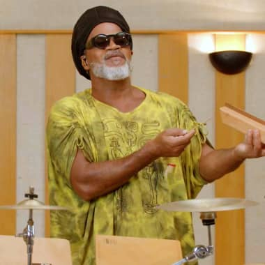 Carlinhos Brown Presents Some of his Favorite Percussion Instruments