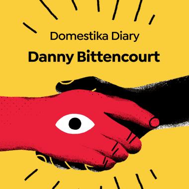 Meet Visual Poet Danny Bittencourt, in this Domestika Diary