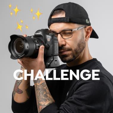 Challenge: retrato com objetos de casa, com JEOSM