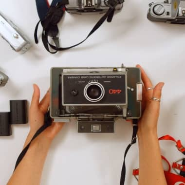 Materiais básicos para criar fotografias de moda