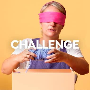 Domestika Challenge: tejer a ciegas y en 30 minutos
