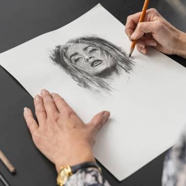 10 cursos online para aprender a desenhar retratos realistas