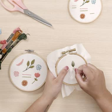 Embroidery Tutorial: 3 Basic Freestyle Embroidery Techniques