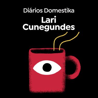 A criativa digital Lari Cunegundes, no Diários Domestika