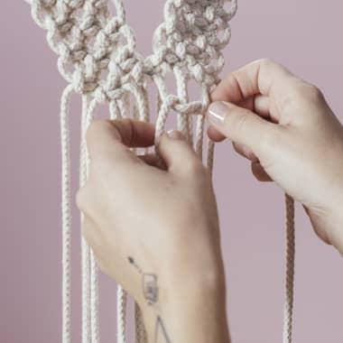 4  tutoriales gratis para aprender a hacer nudos de macramé