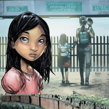 Ana: el cómic sobre niños inmigrantes del ilustrador mexicano de Marvel