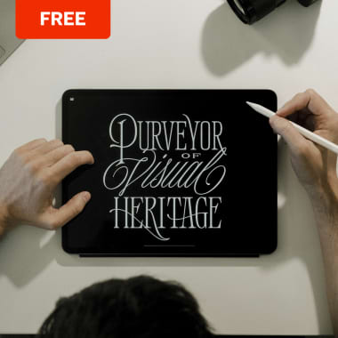 Free Procreate Brushes for Lettering