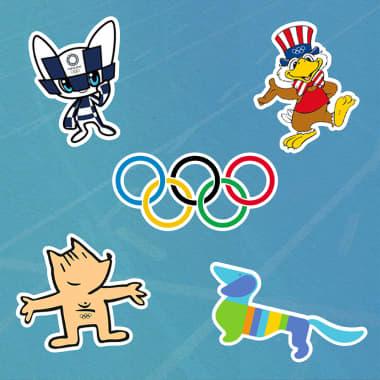A história por trás dos 7 mascotes mais icônicos das Olimpíadas