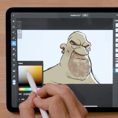 Tutorial Pintura: cómo dibujar un retrato estilizado en Photoshop