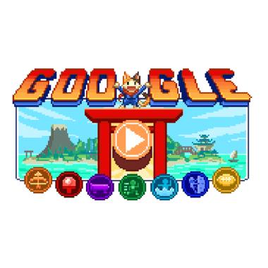 O incrível campeonato olímpico do Doodle do Google