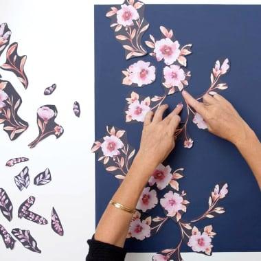 Tutorial Diseño: Ejercicios de composición para crear estampados