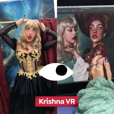 Explore Krishna VR's Stylish Fine Art Photography in this Domestika Diary
