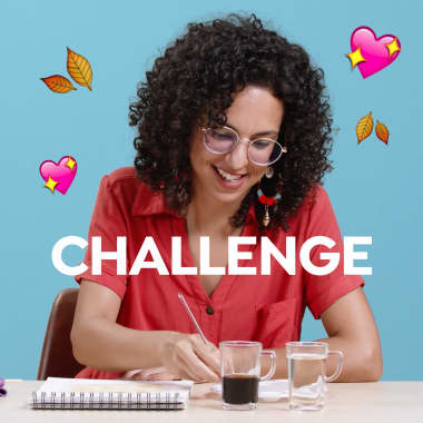 Challenge: pintando com café