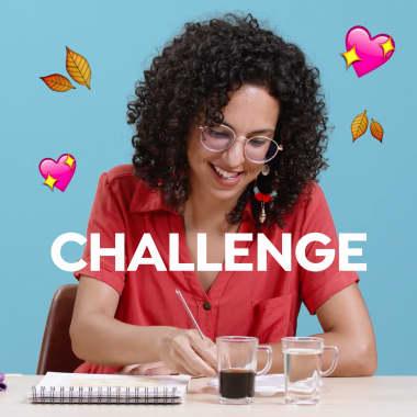 Challenge: Pintando con café