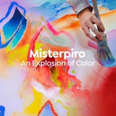 Misterpiro Brings an Explosion of Color to Domestika Creatives