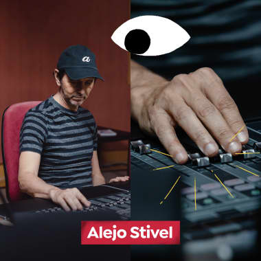 Meet Singer and Music Producer Alejo Stivel in this Domestika Diary