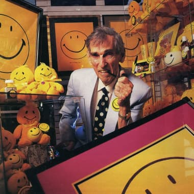 ¿Quién creó la icónica cara feliz amarilla?
