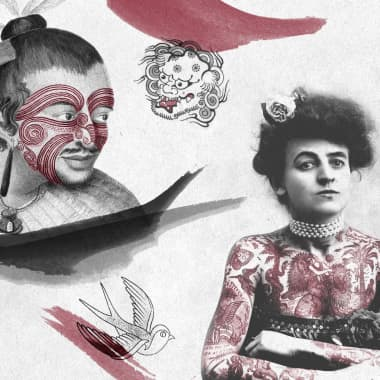 The History of Tattoos: Discover How this Artform Began and Inspired Sailors and Kings