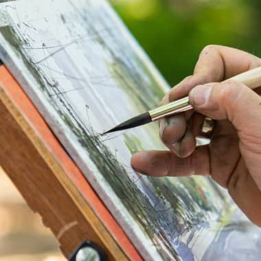 Watercolor Tutorial: Basic Outdoor Painting Tips