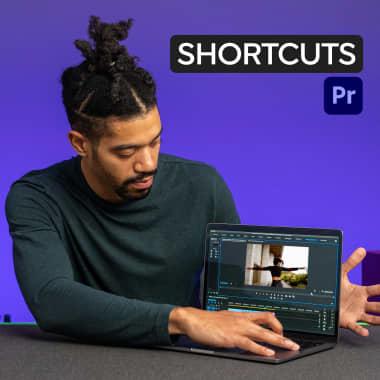 Atalhos de teclado do Premiere Pro para dominar a edição de vídeos
