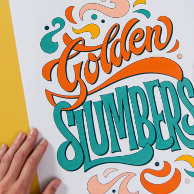 Lettering Tutorial: How to Make Letters with a Calligraphy Brush Pen