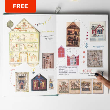 Free Illustrated Guide to Learn How to Use a Sketchbook to Tell Stories