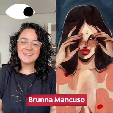 A artista multidisciplinar Brunna Mancuso, no Diários Domestika