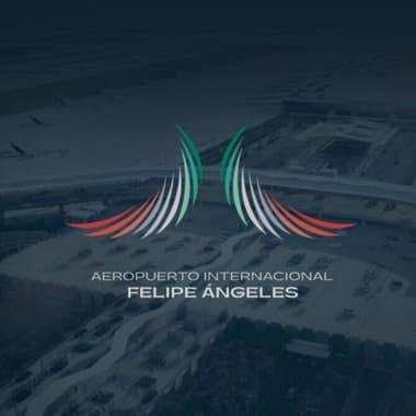 Tras la polémica, así es el nuevo logo del aeropuerto mexicano AIFA