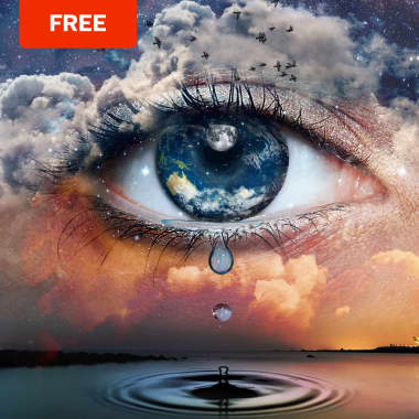 Free Download: 4 Photoshop Brushes for Magical Photomontage