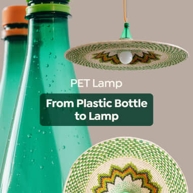 PET Lamp: How to Transform a Plastic Bottle Into a Design Lamp