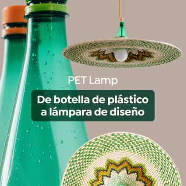 PET Lamp: cómo transformar una botella de plástico en una lámpara de diseño