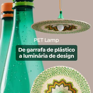 PET Lamp: como transformar uma garrafa plástica em uma luminária de design